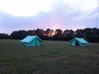 Black's of Greenock Icelandic Canvas Ridge Patrol Tents and Flysheets
