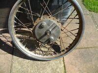 honda cg125 front wheel