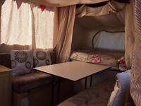6 berth Pennine pullman trailing camper/trailer tent