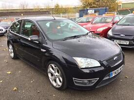 FORD FOCUS 2.5 ST-2 6 SPEED 3 DOOR 2006 / 2 KEEPERS / 62K MILES / HPI CLEAR / 2 KEYS