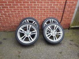Bmw f01 r20 msport original wheels with tyres
