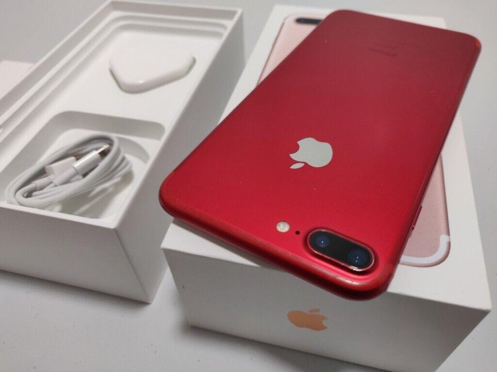 Apple iPhone 7 Plus 128GB Red Unlocked Mobile Phone | in Harrow, London |  Gumtree