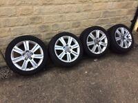 """Audi alloy wheels & tyres 17"""""""