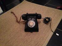 Retro Vintage Bakelite phone