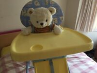 High Chair with table