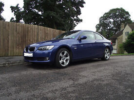BMW 3 Series SE Coupe 320i 2009 (09 reg) Manual Petrol Low mileage Well presented