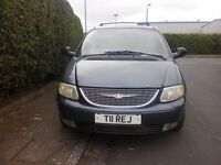Chrysler grand voyager crd limited