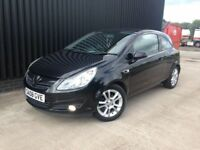 2008 Vauxhall Corsa 1.2 i 16v SXi 3dr Ideal First Car Cheap To Run & Insure 12 Months MOT May PX