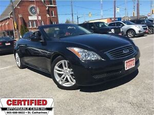 2010 Infiniti G37 Convertible ** HTD/COOLED SEATS, NAV & MORE