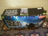 Rock Band Drum Kit and Rock Band Game for Xbox 360