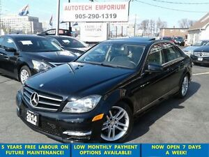 2014 Mercedes-Benz C-Class C300 4MATIC Navigation/Sunroof/Alloys