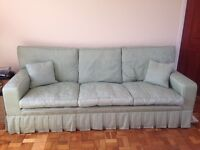 Laura Ashley 3 seater sofa and 2 armchairs