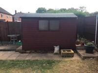 10ft x 7ft shed