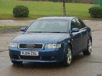 2004 AUDI A4 SPORT S LINE AUTO LIMITED EDITION VERY LOW MILEAGE SUNROOF