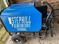 Stephill Diesel Silent Generator SE4000DL -- MINT!