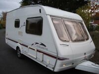 **SWIFT 2 BERTH END- WASHROOM TOURING CARAVAN, EXCELLENT CONDITION**