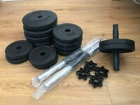 Gallant 20KG Dumbbell Set with Ab Rollout Wheel