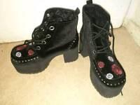 TUK UK Rock Platform Shoes
