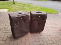 Suitcases for sale in readiness for school summer holidays, hard or soft material to chose from.