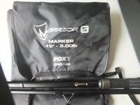 FOX WARRIOR S MARKER ROD 12' x 3lb TC (Used Once)