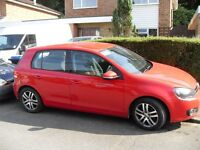 VW GOLF 2.0 TDI SE MK6 140 BRAKE 6 SPEED FSH NEW MOT REDUCED TO CLEAR