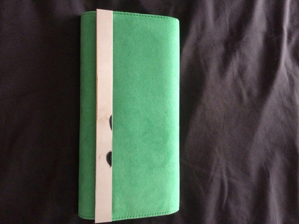 Clutch bag green