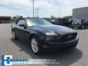 2014 Ford Mustang V6 Premium **CONVERTIBLE, A/C, BANCS CHAUFFANT
