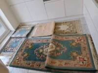 Vintage antique chinese rugs 100% wool