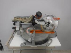 Ridgid MS 1290LZA 12in Sliding Compound Mitre Saw. We buy and sell used power tools. 33341