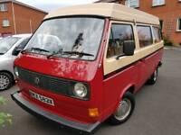 VW T25 Devon 1982 LOW MILEAGE