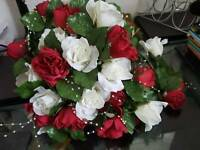 Brides handheld bouquet