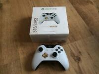 Xbox One Special Edition Lunar White Wireless Controller.