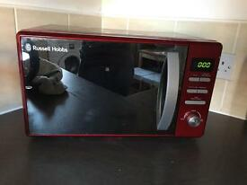Red digital microwave