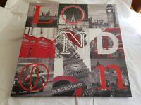 London canvas picture