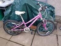 """Trek MT60 girls 20"""" bike"""