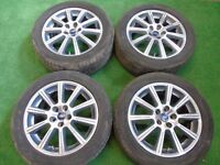 "FORD GALAXY, FOCUS ST, MONDEO, C-MAX, S-MAX, TRANSIT CONNECT 17"" ALLOY WHEELS"
