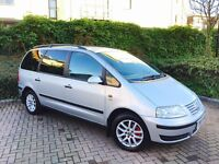 VOLKSWAGEN SHARAN 2.0 TDI SE 7 SEATER 1 OWNER FULL SERVICE HISTORY MINT CONDITION