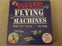 Insane flying machines .....construct and fly your own insane flyer no machines ! ...... Brand New