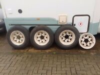 Landrover defender/discovery wheels x4