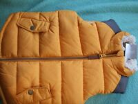 NEXT LITTLE DUDES THERMAL JACKET BODYWARMER 4-5 YEARS BRAND NEW