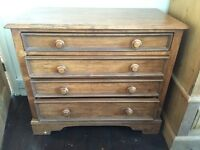 Willis Gambier solid wood chest of drawers