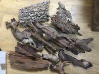 Various sizes bog wood