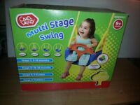 Child's Multi Stage Swing seat. Brand New In Box