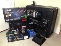 Workstation Gaming PC – i7 4790k up to 4.40 GHz, 16GB Ram, AX860i PSU, GTX 770, Asus Z97 Pro