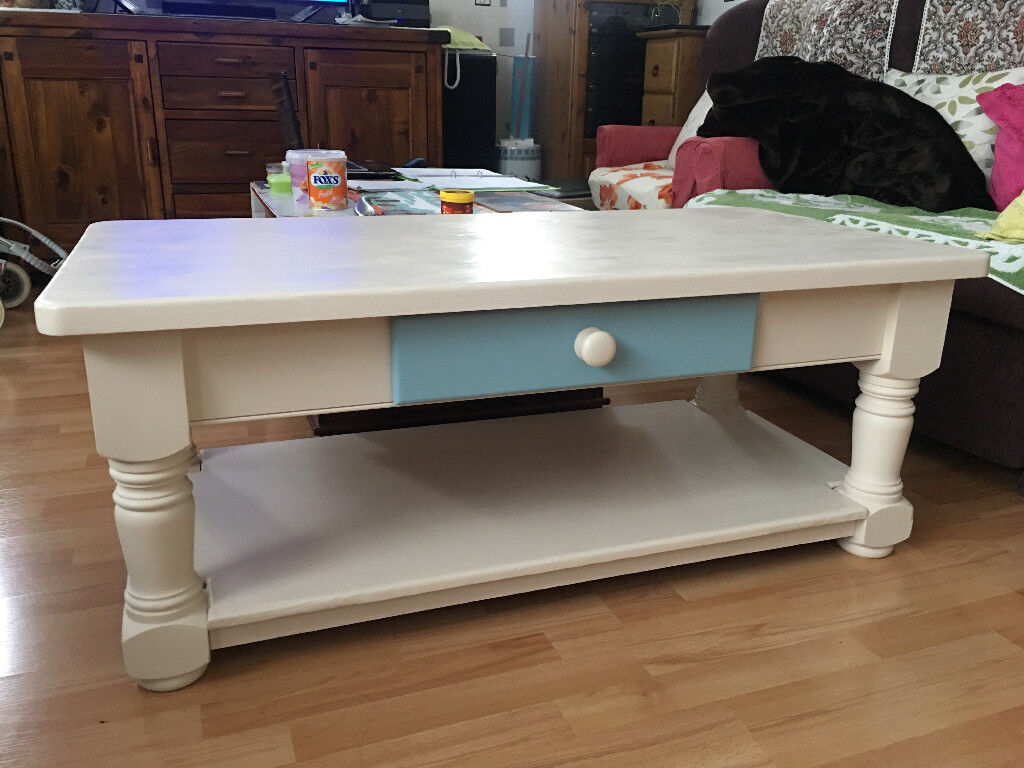 Large Chunky Solid Pine Farmhouse Coffee Table
