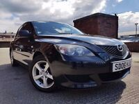 MAZDA 3 1.6 TS2 5dr FSH+1 OWNER+SPOILER+ALLOYS RING NOW FOR MORE INFO 07735447270