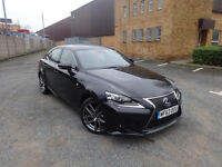 Lexus IS 300h F Sport Saloon Electric Hybrid Diesel 0% FINANCE AVAILABLE