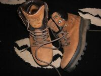 chris brasher ridgemaster walking hiking boots 8s