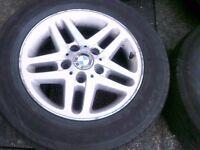 BMW E46 ,15 INCH 2 ALLOYS