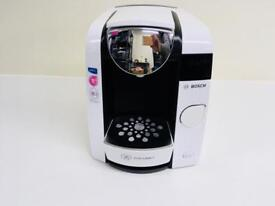 BOSCH TASSIMO JOY T45 TAS4504GB HOT DRINKS AND COFFEE MACHINE 1300W WHITE